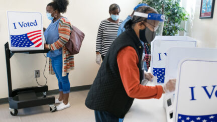 early voting ballot pandemic