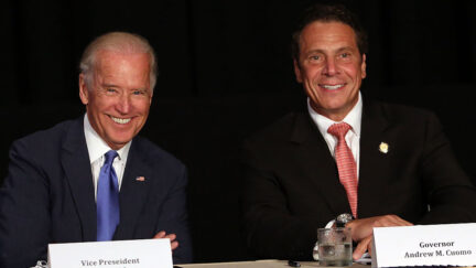 Joe Biden And Andrew Cuomo Make Major Infrastructure Announcement In NYC