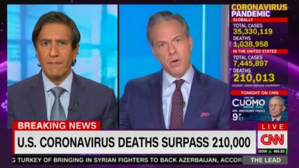 Jake Tapper Rages at Trump's 'Don't Be Afraid of Covid' Claim