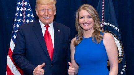 president donald trump and jenna ellis