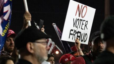 Arizona election protest