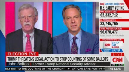 John Bolton Condemns Trump for Spreading Election Night Conspiracie