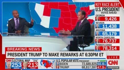 Van Jones, Rick Santorum Erupt in Clash Over Trump's False Election Fraud Claims