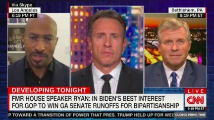 Van Jones Shoots Down Paul Ryan's Theory Biden Benefits from McConnell Leading Senate