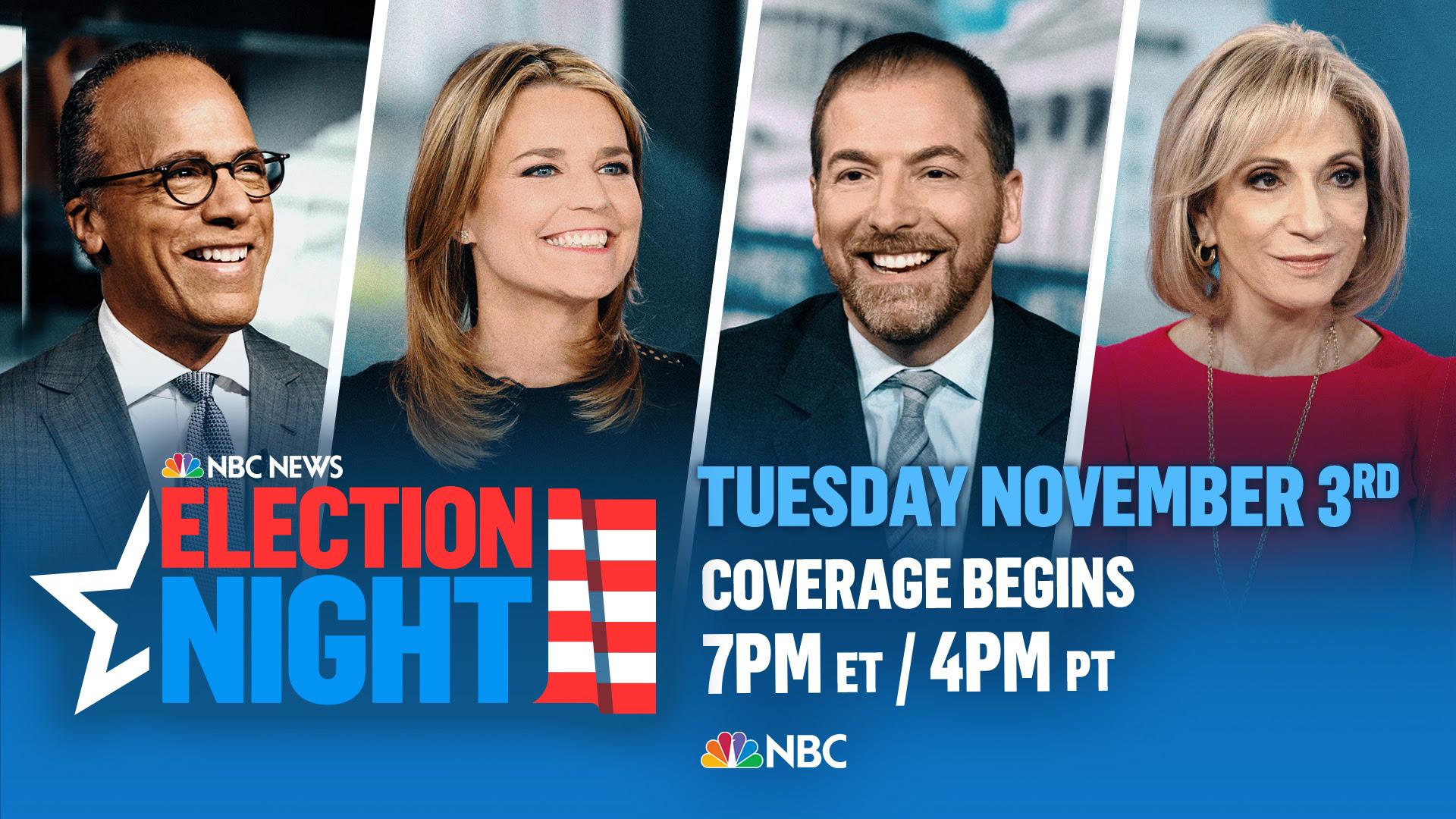 NBC News Election Coverage 2020