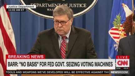 William Barr on the Election