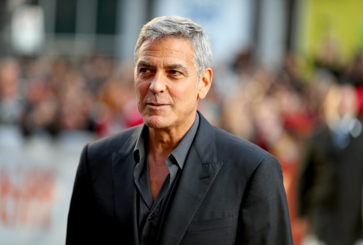George Clooney reveals he has NEVER had an argument with wife Amal