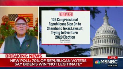 James Carville Calls Out GOP's Self-Destructive Campaign to Subvert Democracy