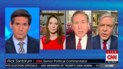 John Harwood Fires Back at Rick Santorum Over Dismissing Mueller Probe, Trump Pardons of Manafort, Stone