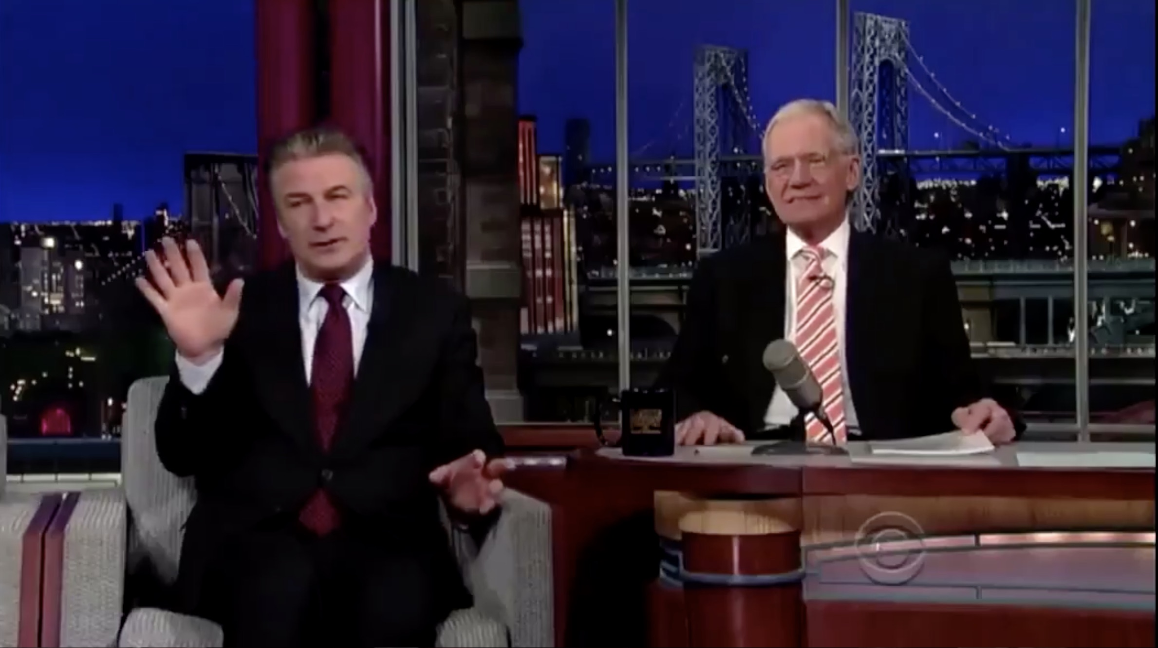 alec baldwin on letterman 2013