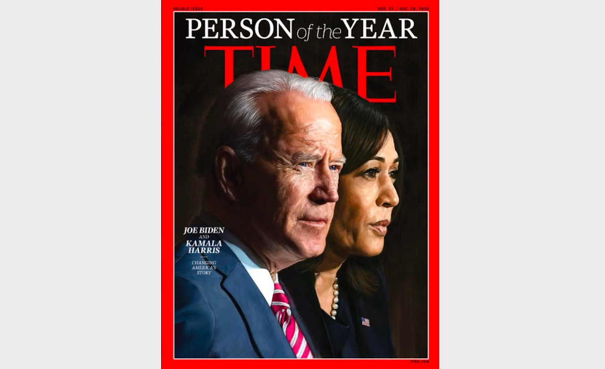 Time Magazine's POY Are Joe Biden and Kamala Harris
