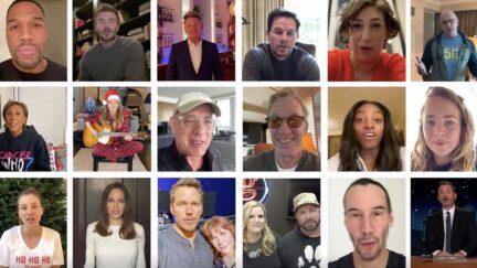 Tom Hanks Angelina Jolie Military Families