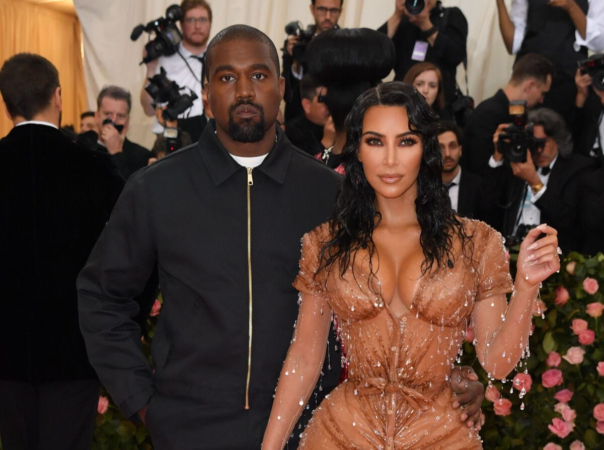 Kanye West and Kim Kardashian West said to be living apart