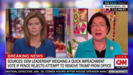 Mazie Hirono Scoffs at Trump's 'Teleprompter Speech' Concession