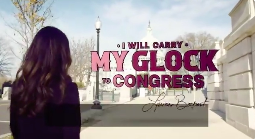 Rep. Lauren Boebert Fakes Campaign Video Claim to Conceal Carry Glock to Congress