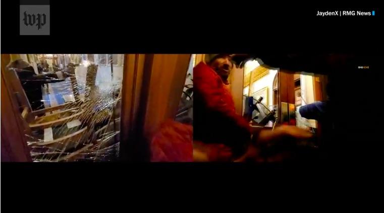 Shocking Video of Capitol Police Shooting Ashli Babbitt