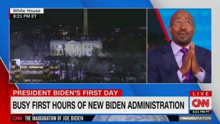 Van Jones Fawns Over First Biden White House Press Briefing