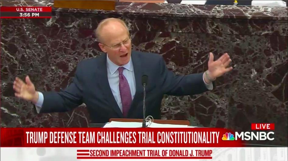 David Schoen Spews Vitriol in Trump Impeachment Defense Opening