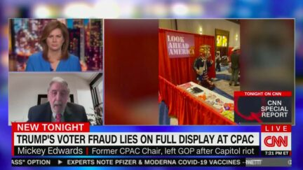 Former CPAC Chair Rep. Mickey Edwards Condemns 'Alternate Reality' of 2021 Conference