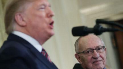 Donald Trump, Alan Dershowitz