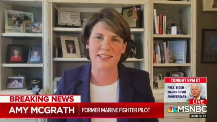 Amy McGrath Strafes Tucker Carlson Over Attackign Feminization of the Military