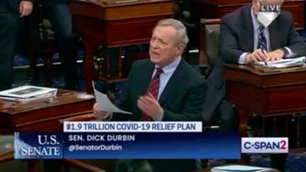 Dick Durbin Dismantles Ted Cruz Over Claim Undocumented Immigrants Will Get Covid Aid