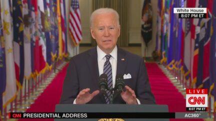 joe biden first presidential address