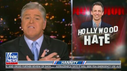 Sean Hannity Fires Back at Seth Meyers, Calling HIm a 'Hypocritical A**shole'