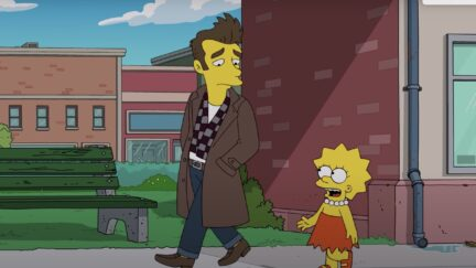 Quilloughby/ morrissey the simpsons