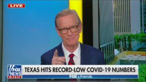 Steve Doocy encourages viewers to take Covid vaccine