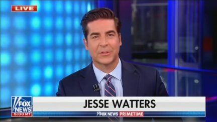 Jesse Watters hosts Fox News Primetime