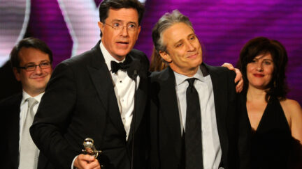 Jon Stewart Stephen Colbert Late Show