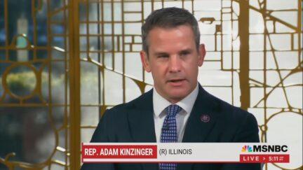 Adam Kinzinger on Morning Joe