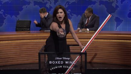 cecily strong as jeanine pirro