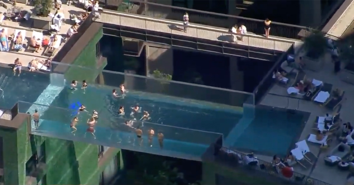 A New 'Sky Pool' in London is Met With a Massive NOPE From Twitter