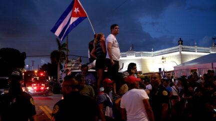 miami patria v vida cuba protests versailles florida