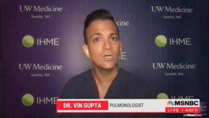 Dr. Vin Gupta on Morning Joe