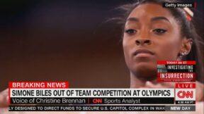 Simone Biles Report on CNN