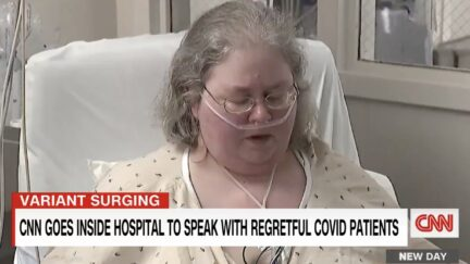Unvaccinated Covid Patient