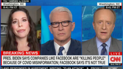 CNN Panel Clashes Over Covid Misinformation on Facebook