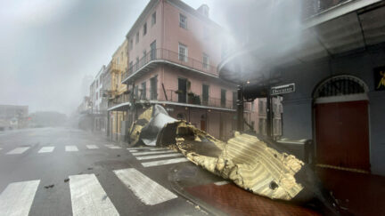 new orleans hurricane idea