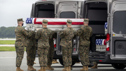 Dignifed Transfer Held For 13 Service Members Killed At Kabul Airport
