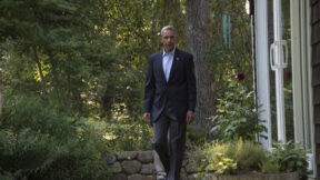 Obama in Martha's Vineyard