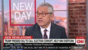 Jeffrey Toobin on CNN's New Day