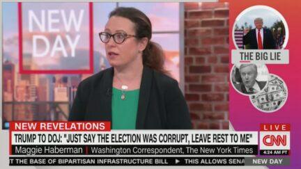 Maggie Haberman on CNN's New Day