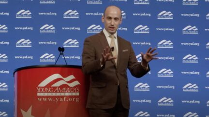 Stephen Miller at the Young America's Foundation's National Conservative Student Conference