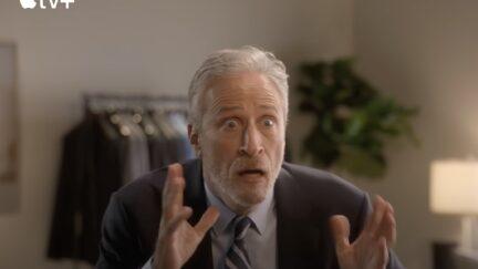 Jon Stewart Teases His Return to TV in New Trailer
