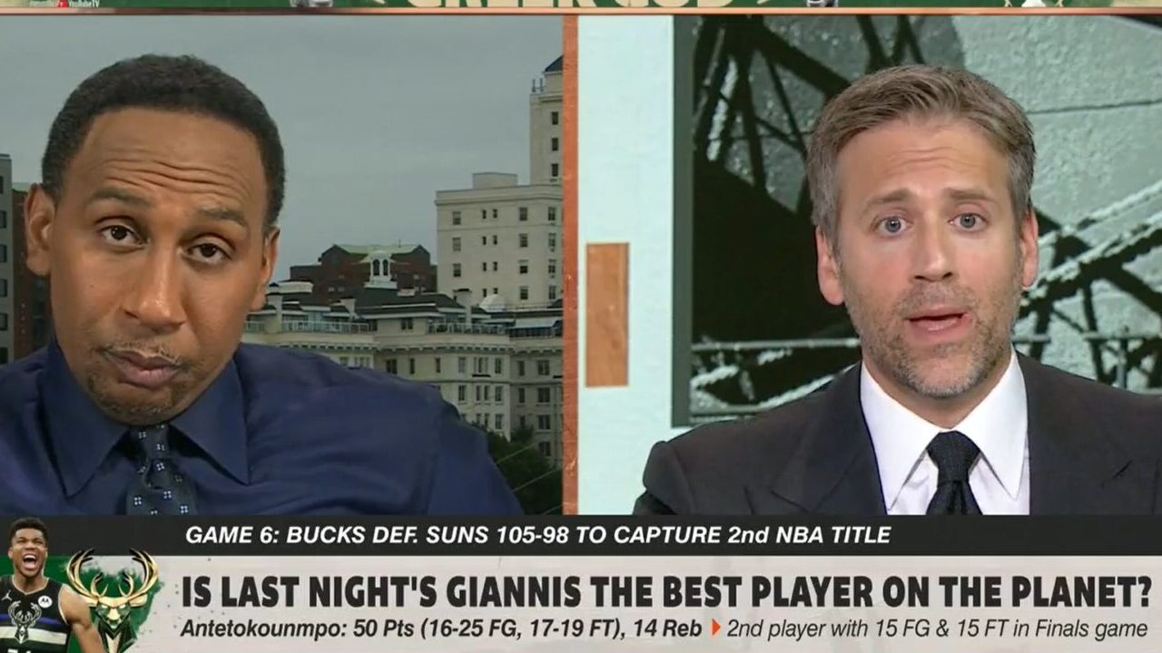 Max Kellerman and Stephen A. Smith