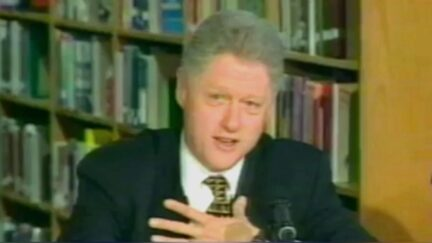 Bill Clinton responds to Kathleen Willey interview 1998