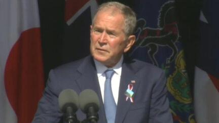 George W Bush Shanksville PA 9-11-21